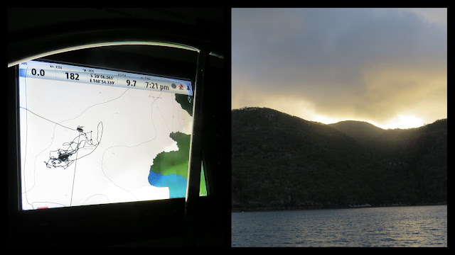 Sailing in the Whitsundays - Stonehaven Anchorage
