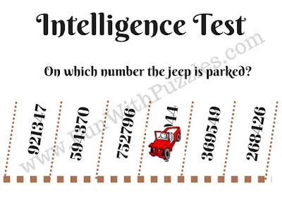 Parking Picture Puzzle to check your intelligence