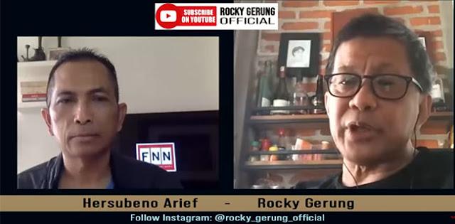 Pernyataan Gatot Nurmantyo Soal Omnibus Law, Rocky Gerung: Ada Pers Yang Memotret Kuku Kaki