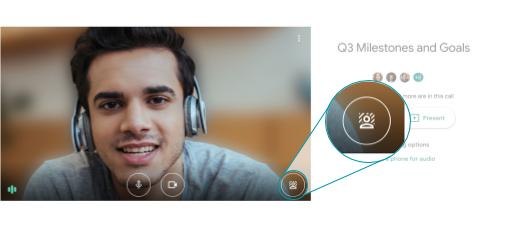 Google Meet commence à déployer des arrière-plans personnalisés pour les utilisateurs du web