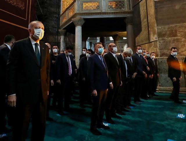 Γερμανικός Τύπος: Η Αγία Σοφία σύμβολο της αποτυχίας του Ερντογάν