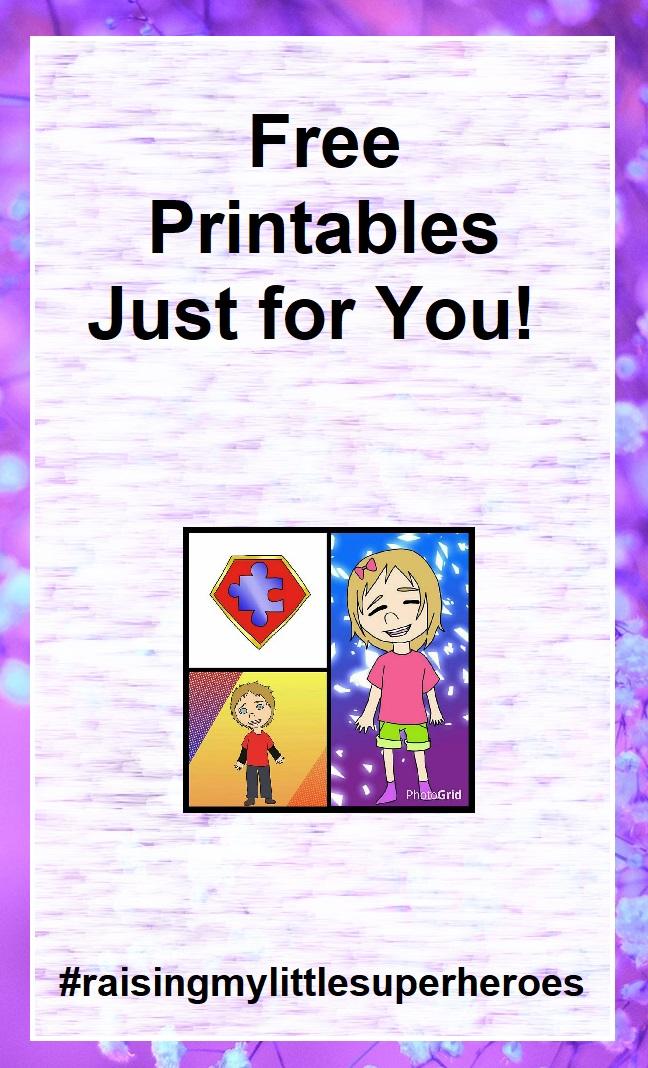 picture regarding Free Printable Social Stories for Preschoolers named Rising My Minor Superheroes : Freebie Printables for Yourself
