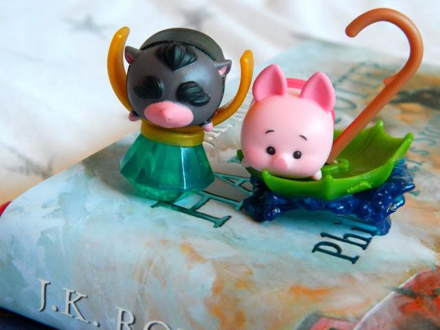 Disney Tsum Tsum Mini Figures: Mr Big Zootopia, Piglet Winnie the Pooh
