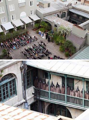 Ada 'Penampakan' Menyeramkam dari Foto Pernikahan Ini Setelah Di-Zoom, Bikin Merinding!