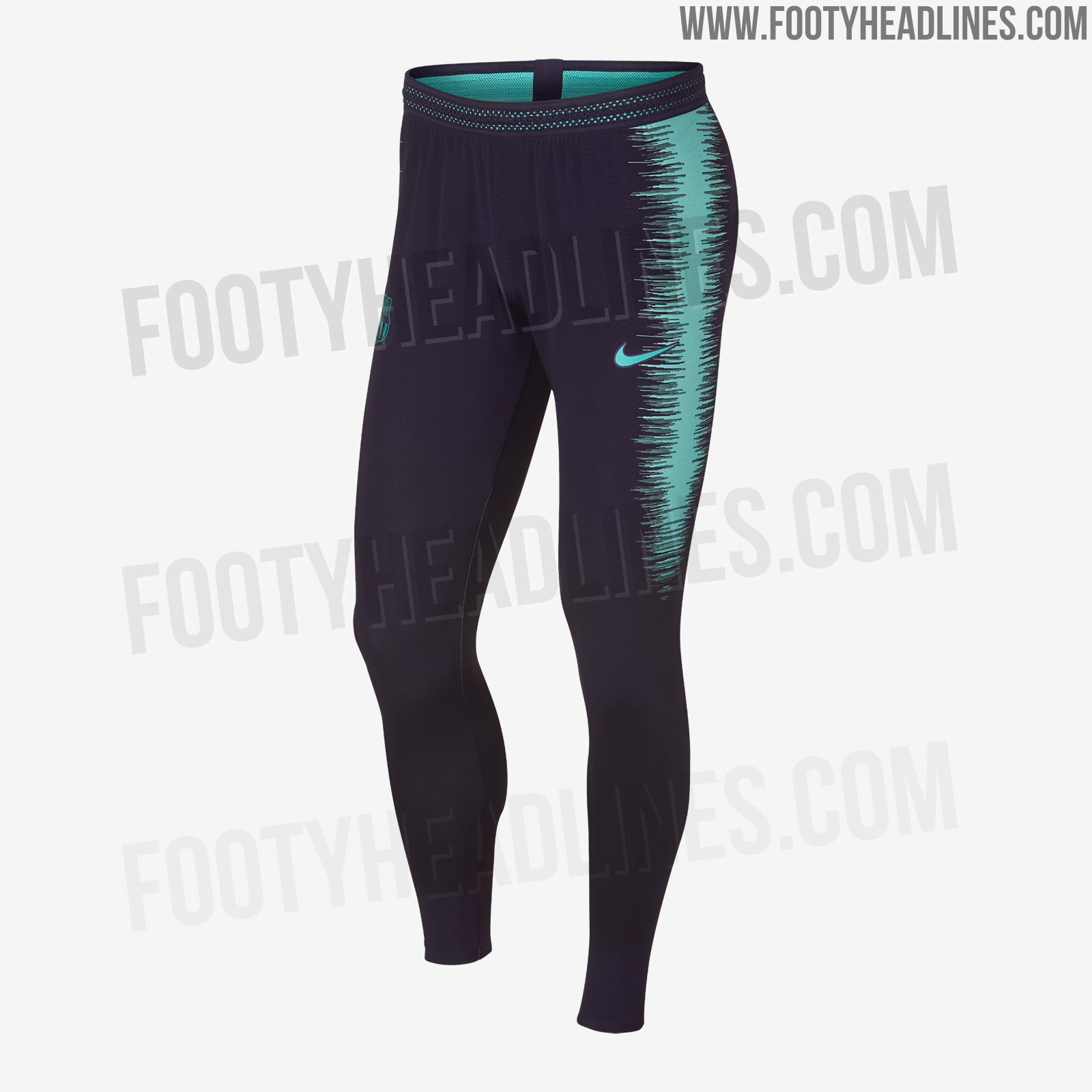 ecdfee09d Stunning Nike Barcelona 18-19 Training Kit Leaked