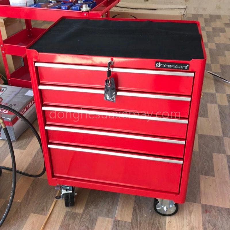 tủ đồ nghề 5 ngăn, tủ đồ nghề sửa chữa ô tô, tủ đồ nghề 5 ngăn kéo