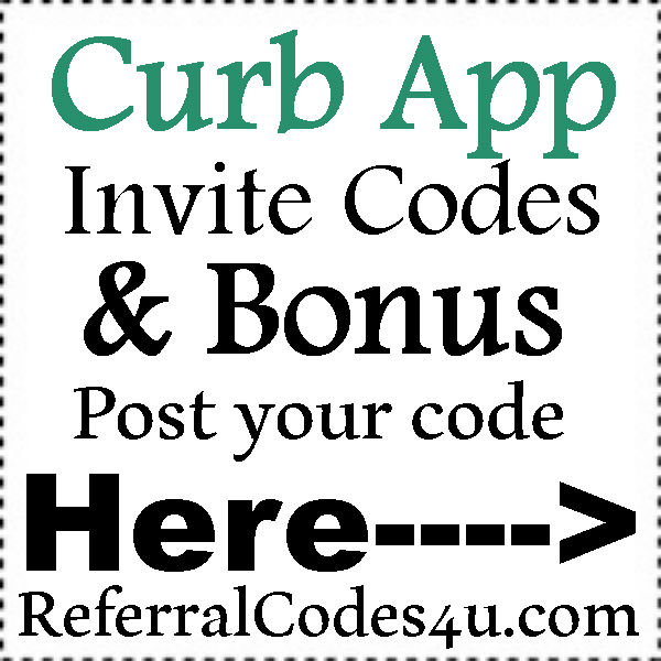 Curb App Referral Code 2016-2021, Curb Ride Promo Codes July, August, September, October