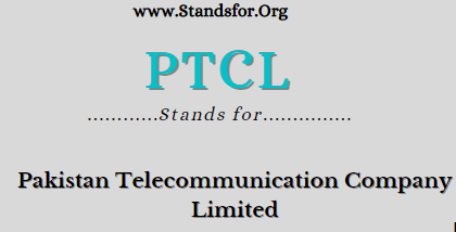 PTCL stand for? Pakistan telecommunication company limited