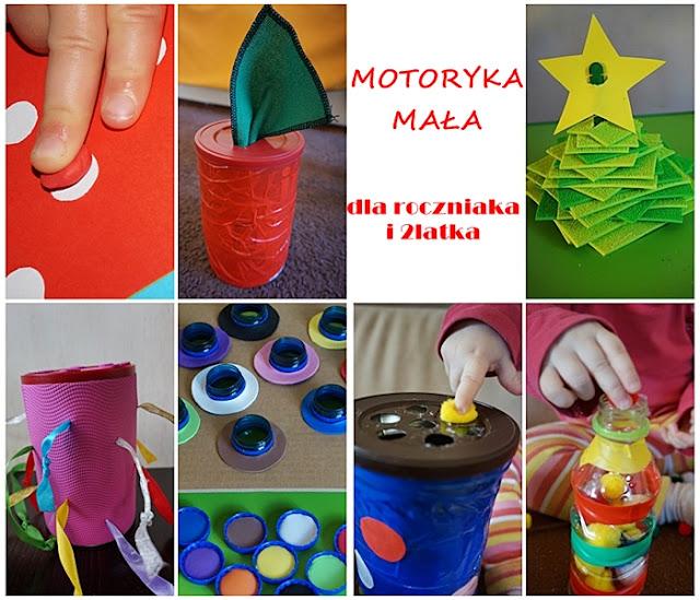 zabawy dla roczniaka i dwulatka