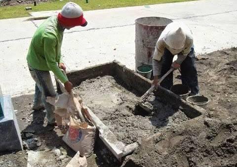 Cara Membuat Adukan Semen Dan Pasir Dengan Tepat Dan Benar