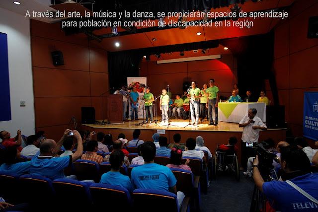 """Secretaría de Cultura NdeS y Alta Consejería presentan el proyecto """"Somos Arte y Cultura"""" #RSY #OngCF"""