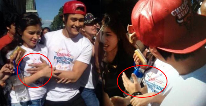 Controversial Enrique Gil Was Caught Touching Liza -8021