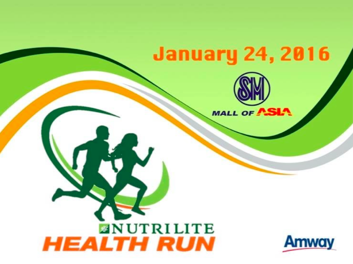 On Top of the World: Nutrilite to host 4th Health Run in