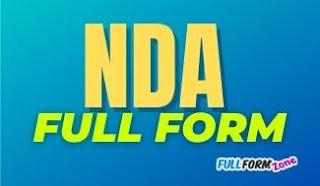 nda-full-form