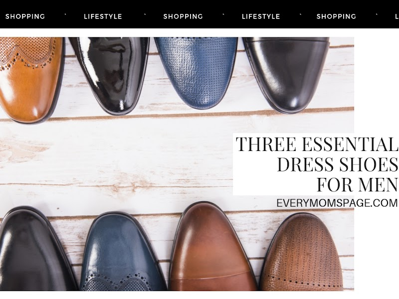 Three Essential Dress Shoes for Men