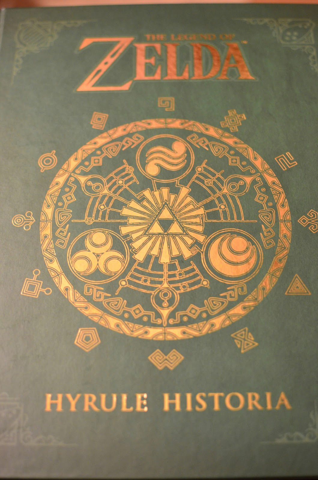 Everything Geek From A Geek The Legend Of Zeld The Hyrule Historia A Review