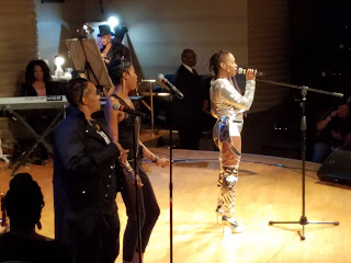 Ideeyah performing on stage at Black Women Rock!