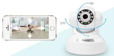Camera không dây hỗ trợ wifi hiện đại tân tiến