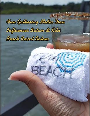 Welcome drink Kiki Beach Resort