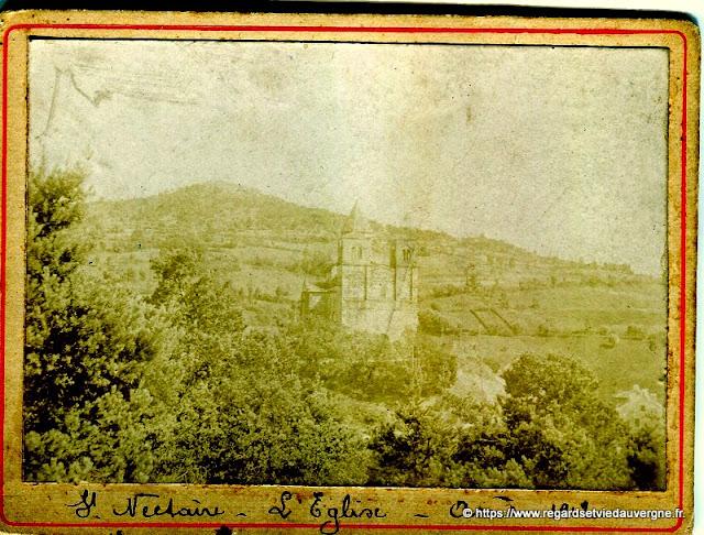 Eglise de saint Nectaire en 1912