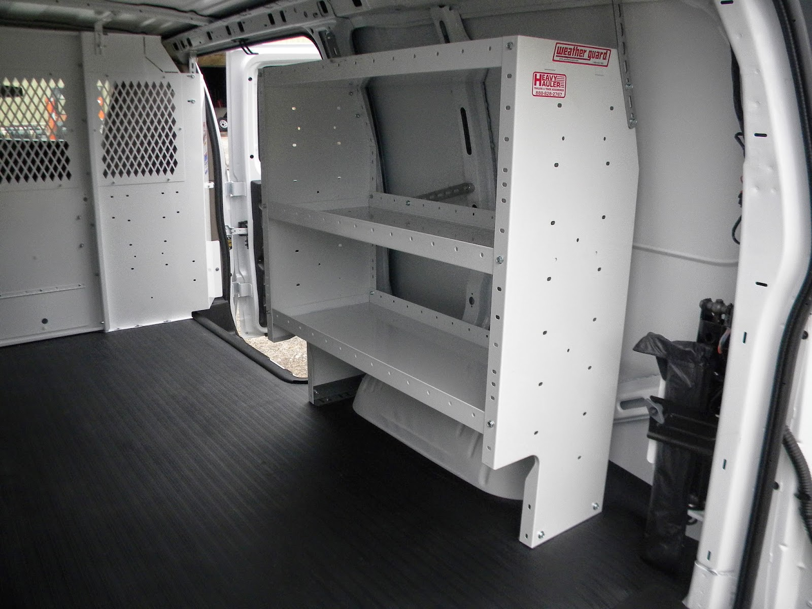 Chevy Express Cargo Van Partition