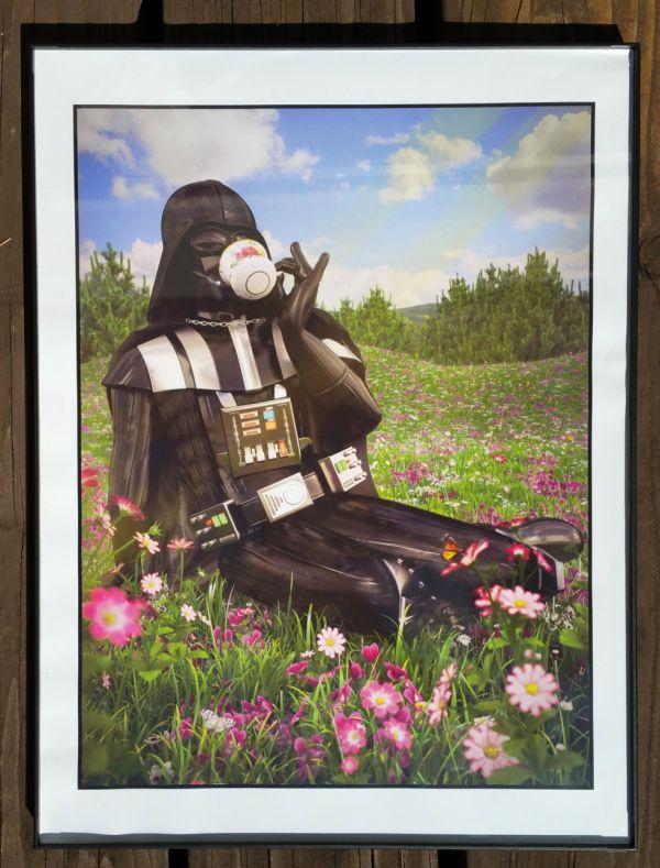 Darth Vader bebiendo un poco de té, tejer Boba Fett y otros retratos divertidos de Star Wars by Kyle Hagey