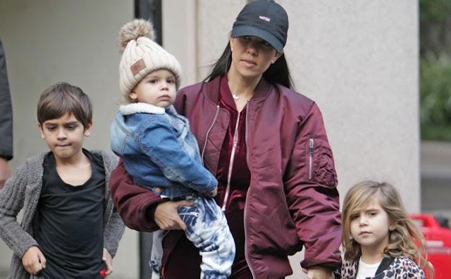 Kourtney Kardashian vows to 'teach her kids about their white privilege'