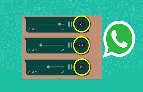 ميزة جديدة  في WhatsApp لتسريع الرسائل الصوتية