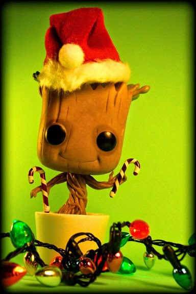 Christmas Groot Funko Pop.Let Your Toys Live Merry Christmas