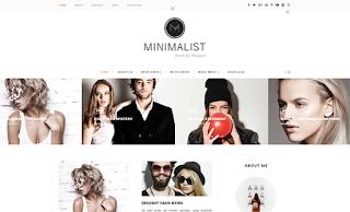 Minimalist Carousel Blogger Template