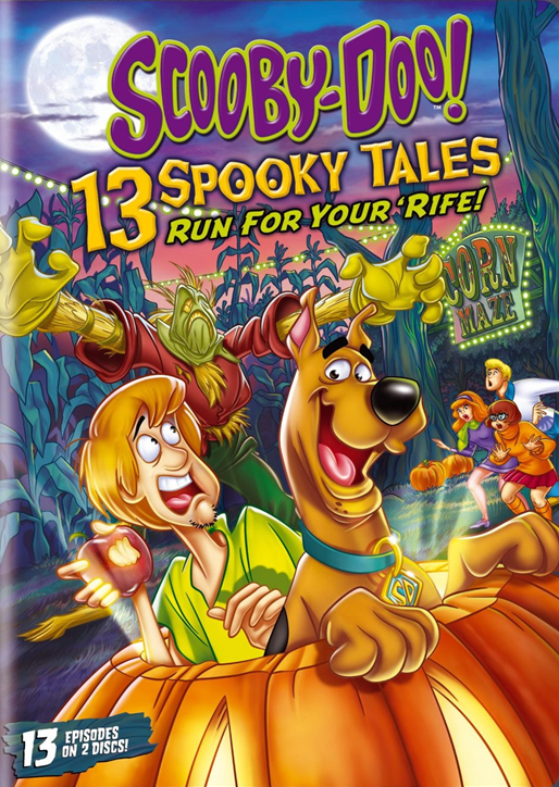 Scooby-Doo! 13 Spooky Tales Run For Your 'Rife! [2013] [DVD9] [NTSC] [Latino] [2 DISC]