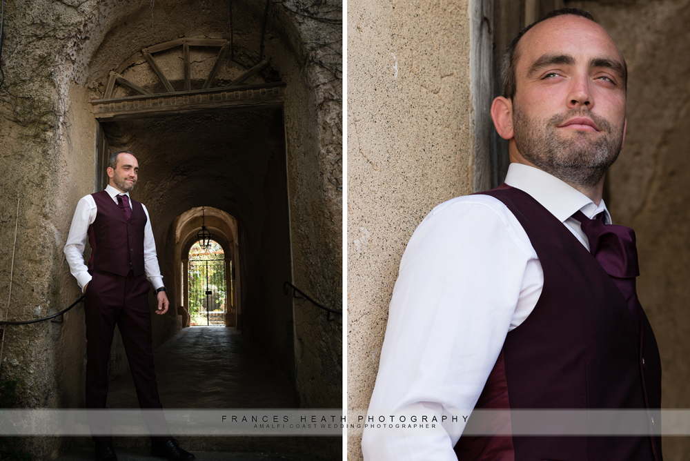 Groom in Ravello