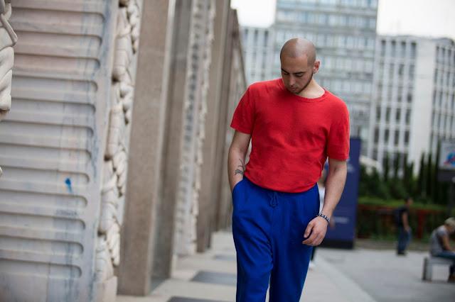 maglione uomo in cotone estivo