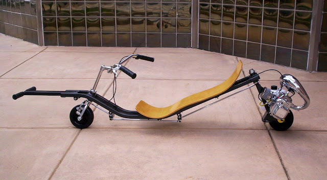 Robert Horn Two Wheel Steering Go-Ped