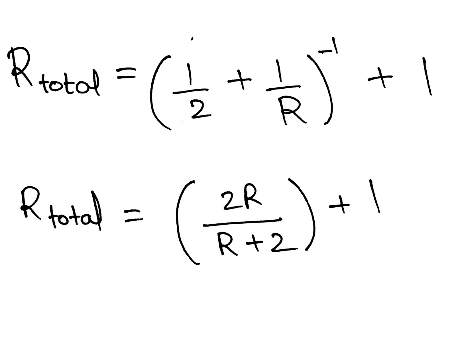 Derivation Of Formula For Effective Resistance Of Series Circuits