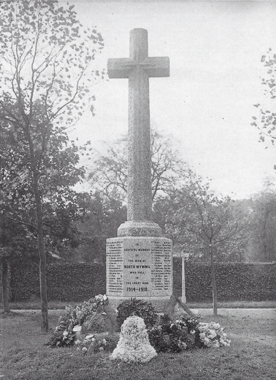 Photograph of North Mymms War Memorial