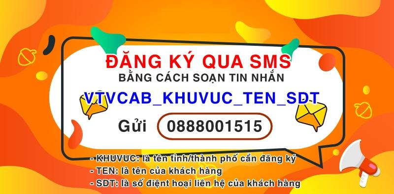 Đăng ký lắp mạng internet + truyền hình cáp VTVcab tại tỉnh Bắc Ninh qua tin nhắn SMS