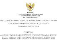 Honorer K2 : PermenPAN-RB 61/2018 Sarat Dengan Tipu-tipu
