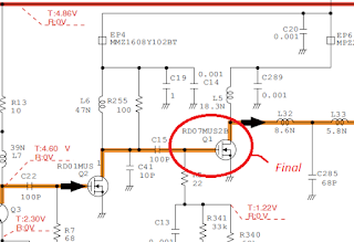 mengatasi icom tidak mengeluarkan watt