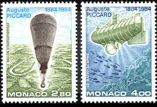 Monaco 1984 Auguste piccard