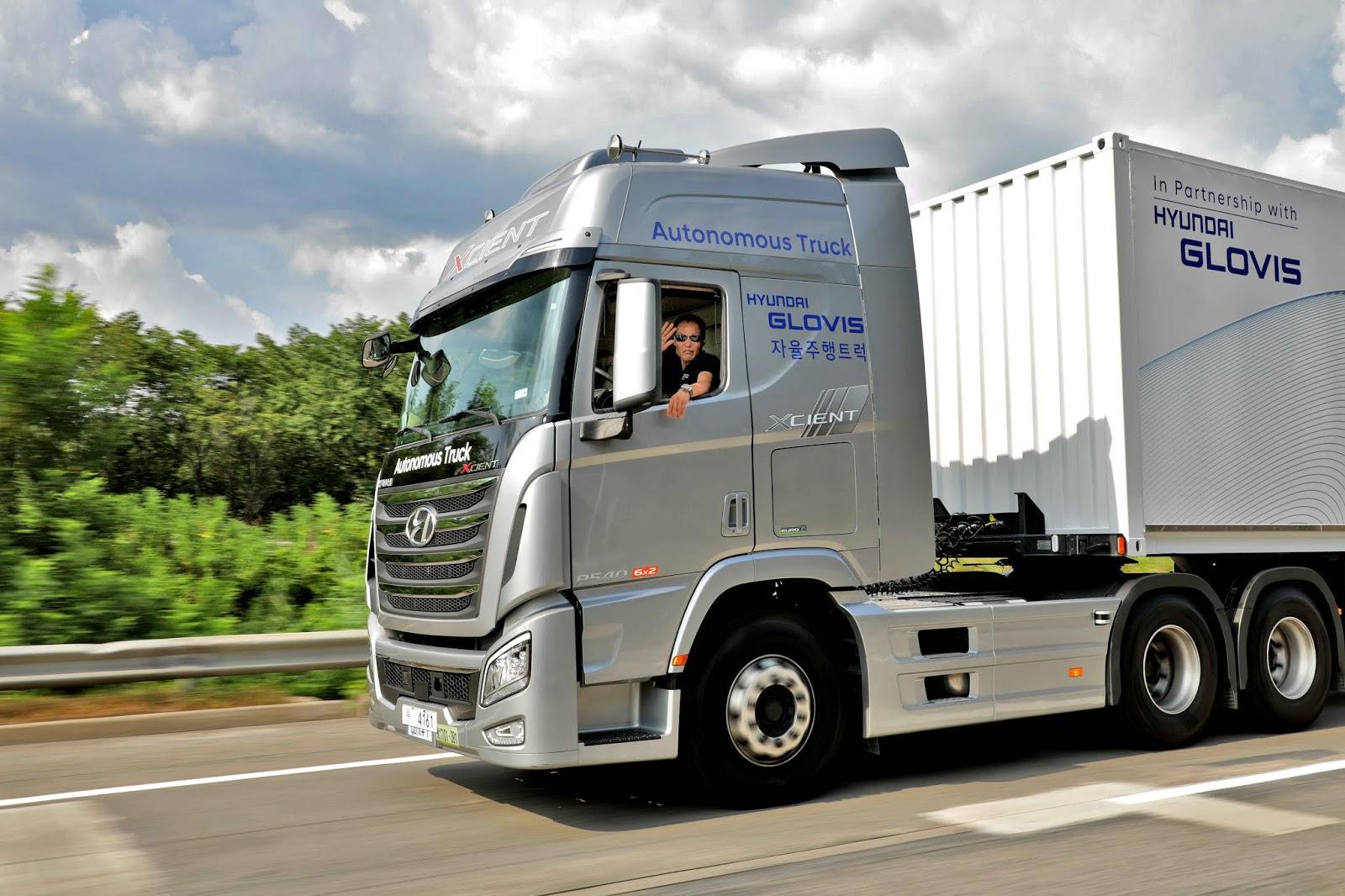 Hyundai Motor Company completa el primer viaje en la autopista nacional de camiones autónoma de Corea del Sur