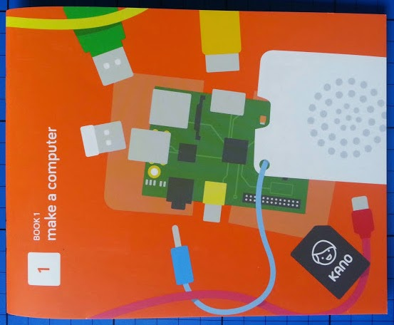 The Kano Computer Kit review - make a computer booklet