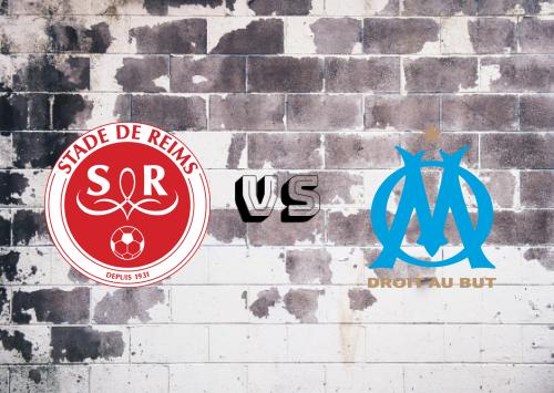 Reims vs Olympique Marseille  Resumen