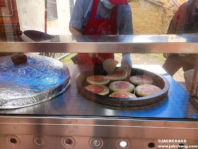 現場烤製餅