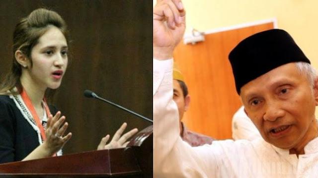 Komentar Menohok Politisi PSI, Tsamara Amani Pada Amien Rais yang Bilang Jokowi Ngibul