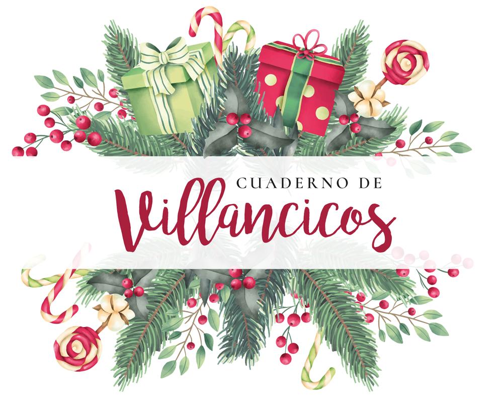 Cuaderno de villancicos descargable: canciones navideñas  para cantar en familia1