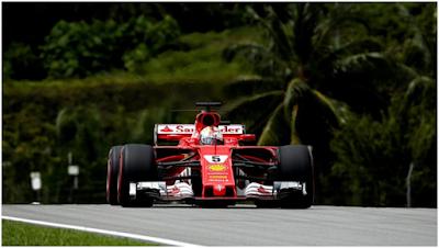Kimi Raikkonen Menjadi Yang Tercepat Di Sesi Akhir Latihan Bebas F1 GP Sepang Malaysia