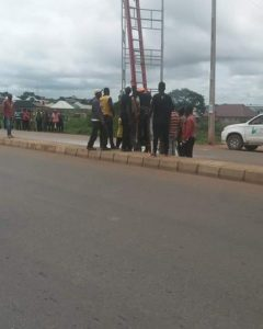 Photos From The Accident That  Happened  On NNPC Road  Kaduna