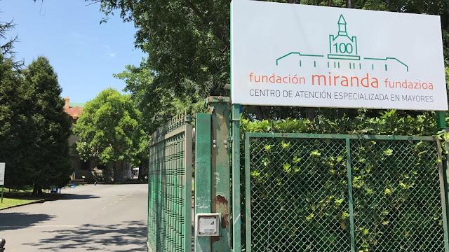 Accesos a la Fundación Miranda