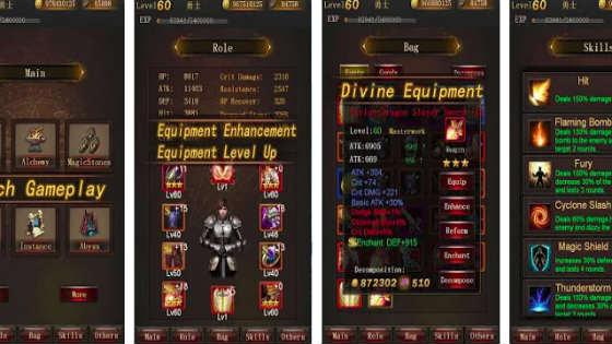 Legend of Darkness - Offline RPG offline games for android